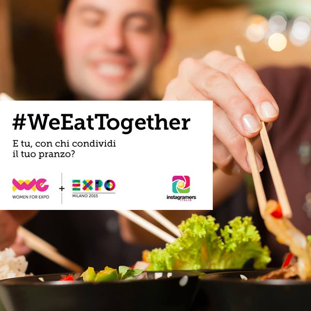 #WeEatTogether